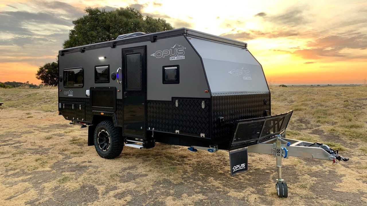 Opus Unveils First Off-Road Trailer With Massive Outdoor Kitchen
