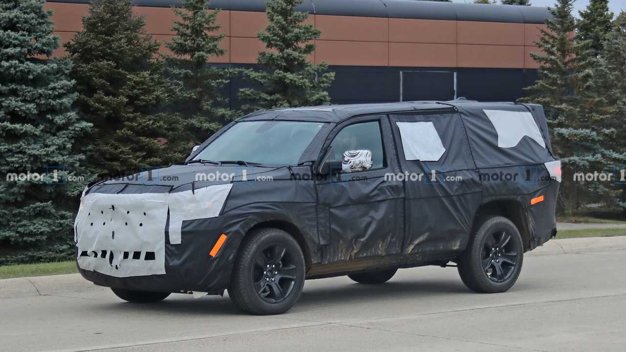 Jeep Wagoneer 2021 - Flagra