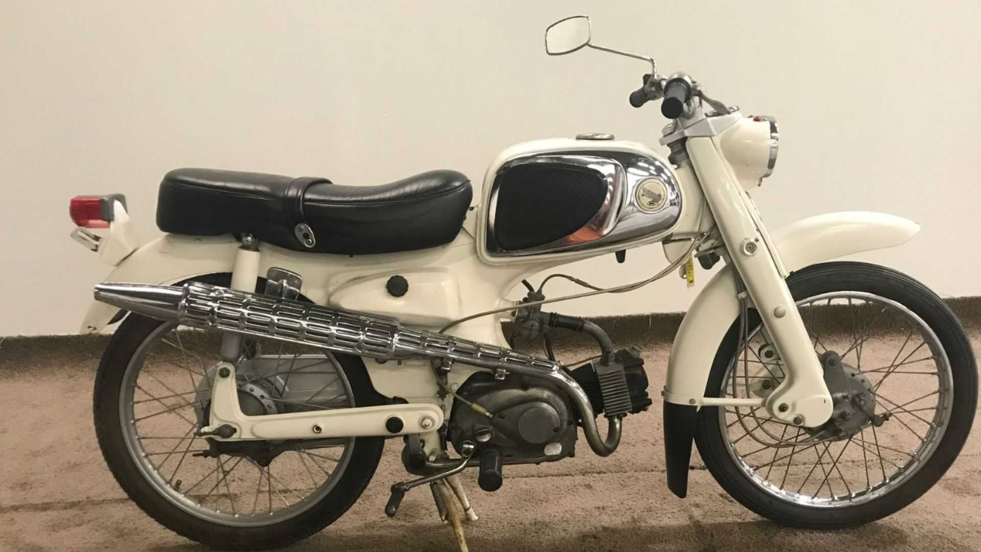 """[""""Relive Glory On A 1965 Honda Sport 50""""]"""