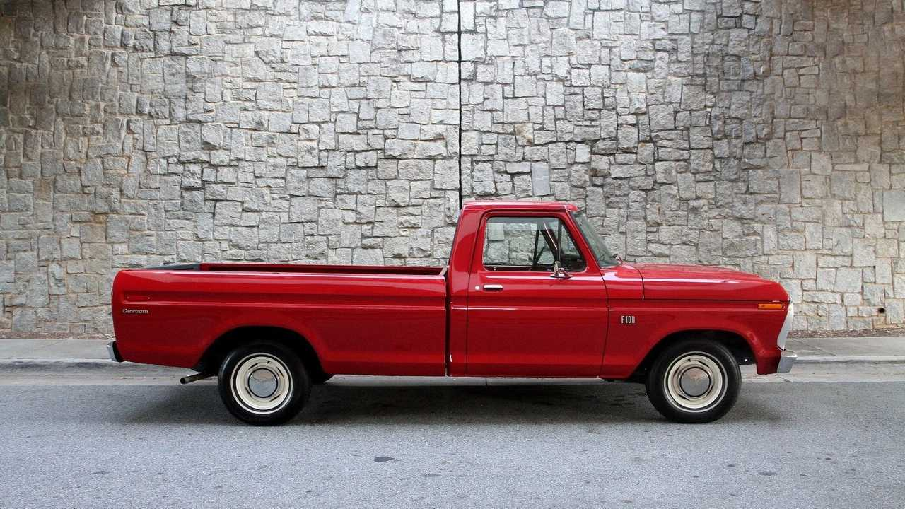 For Under $14K, Take Home This Two-Owner 1974 Ford F100