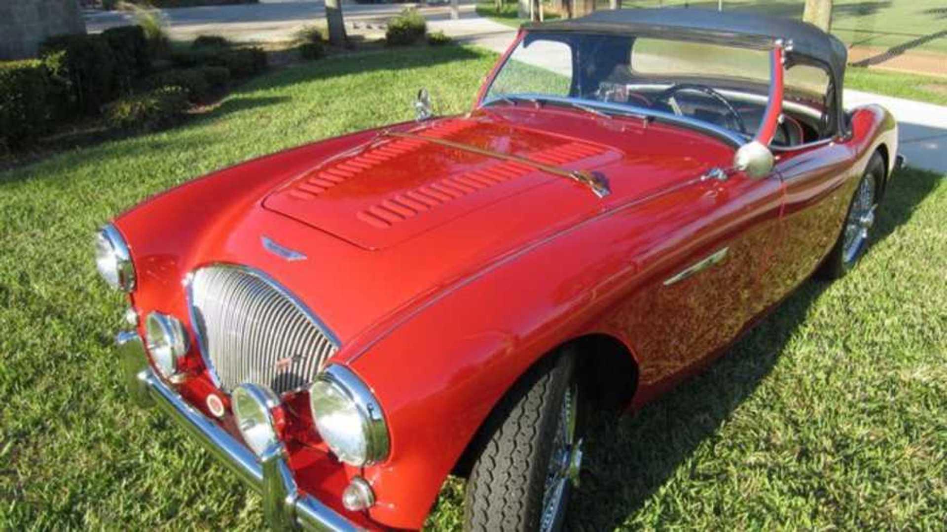 "[""Swipe This Genuine 1955 Austin-Healey 100-4""]"