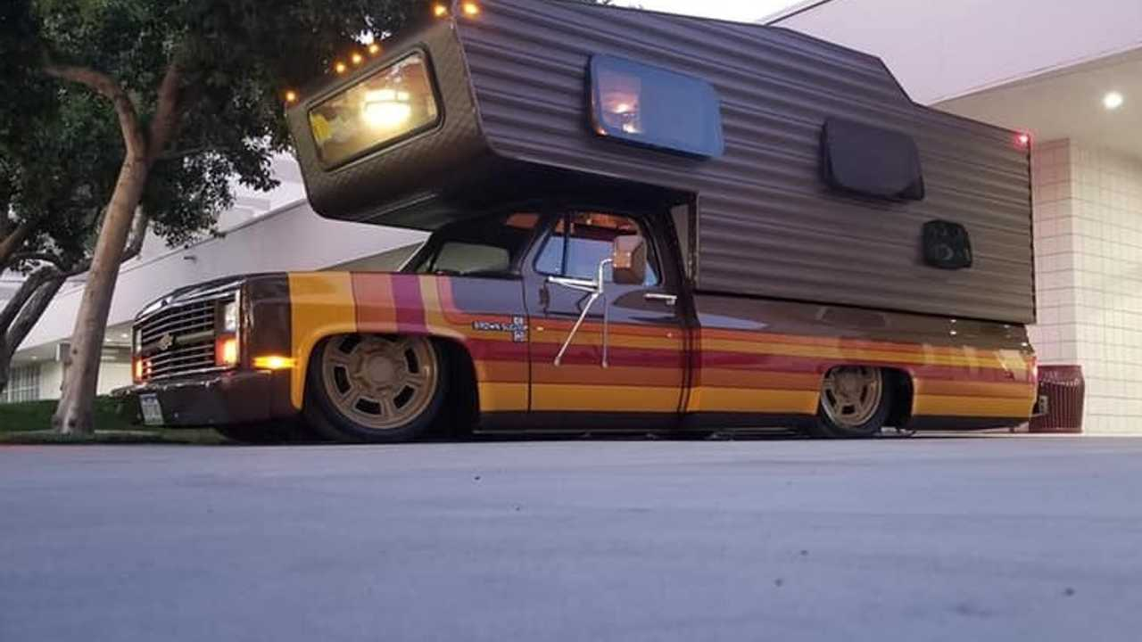 River City Rods & Fabrication Brown Sugar Camper