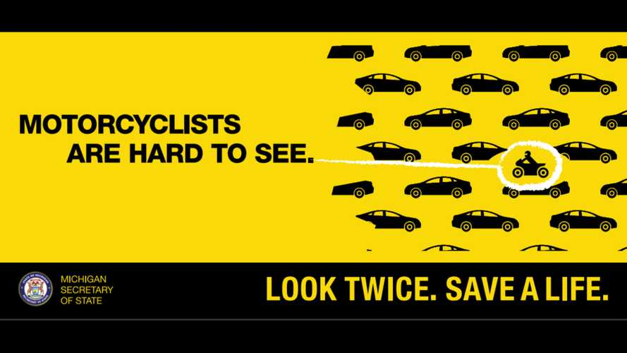 Michigan Teaching Motorists How to Spot Motorcycles