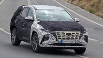 2021 hyundai tucson spy photos