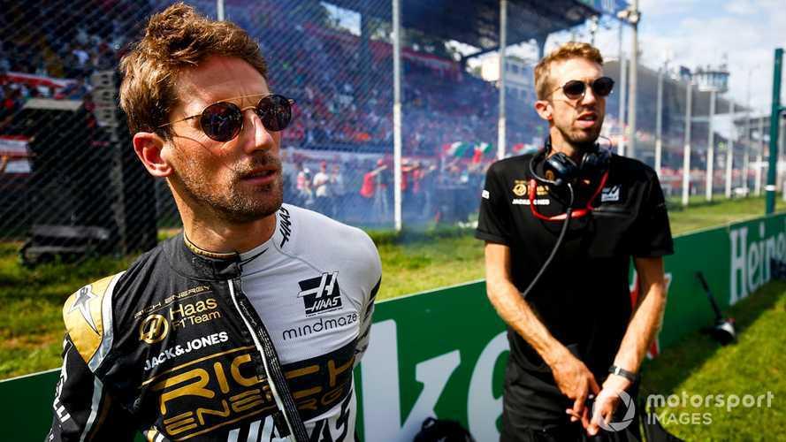 Romain Grosjean at Italian GP 2019