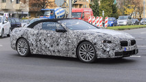 BMW 6 Series Convertible spy photo