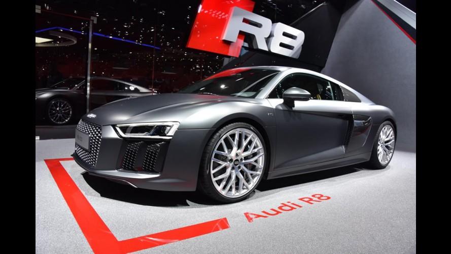 Novo Audi R8 chegará ao Brasil no segundo semestre de 2016
