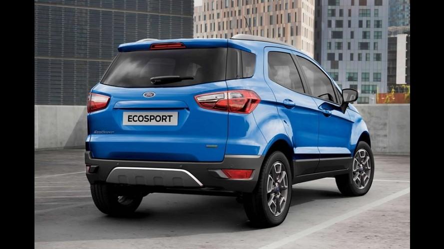 EcoSport sem estepe na traseira custa R$ 69,2 mil no Reino Unido