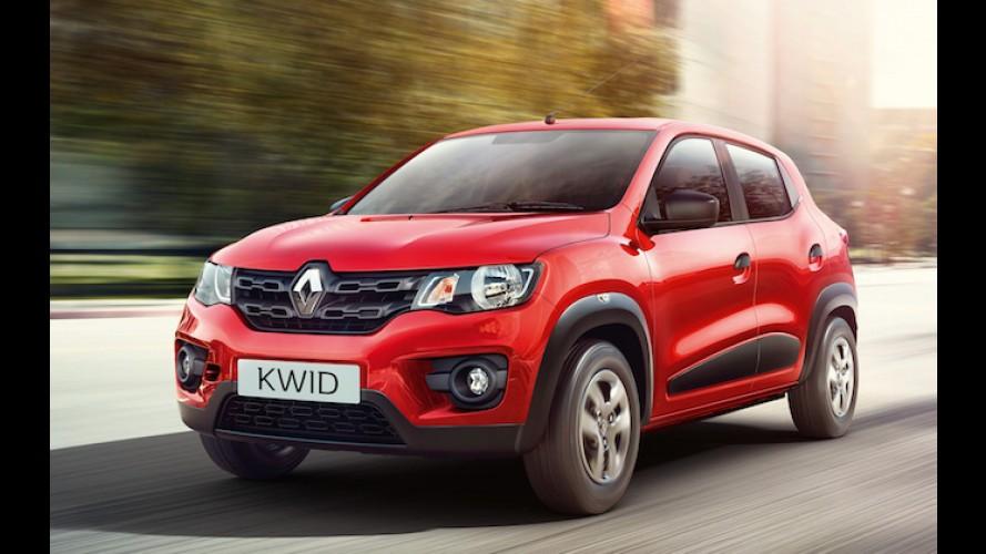 """Renault Kwid será posicionado no Brasil como """"SUV de entrada"""", adianta chefão - veja novo flagra"""