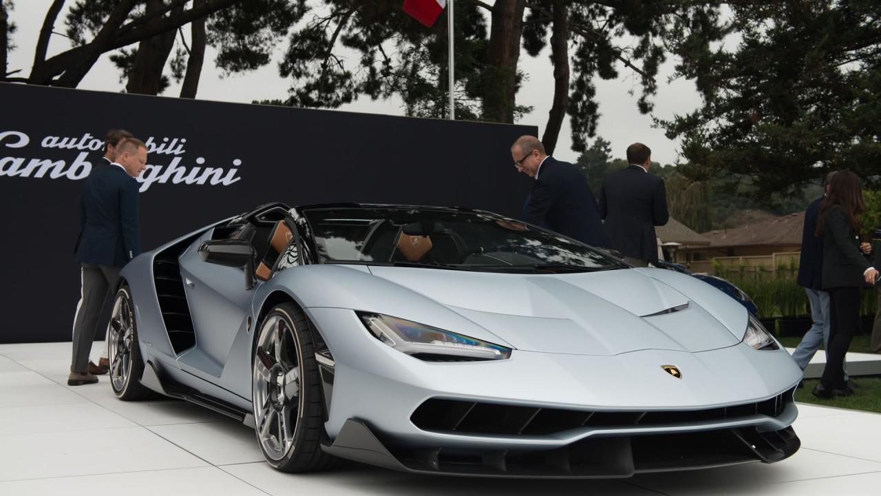 Hipnotizante: Lamborghini Centenario Roadster é mostrado pela primeira vez