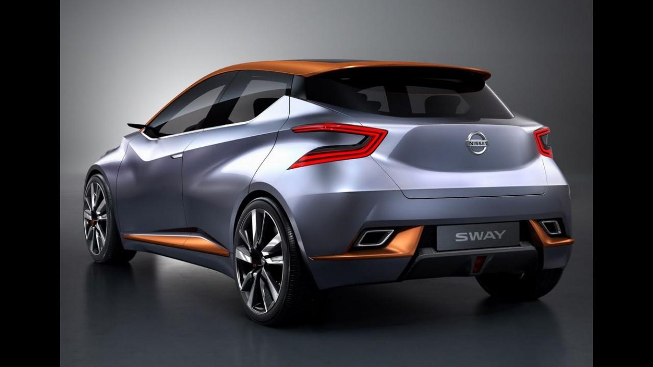 """Nissan começa a revelar o """"revolucionário"""" novo March 2017 - vídeo"""