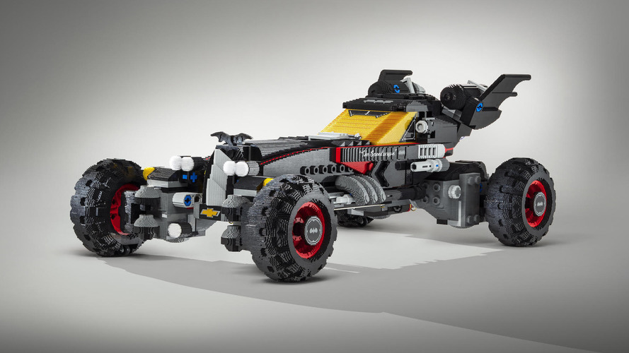 Chevy built a life-size Lego Batmobile