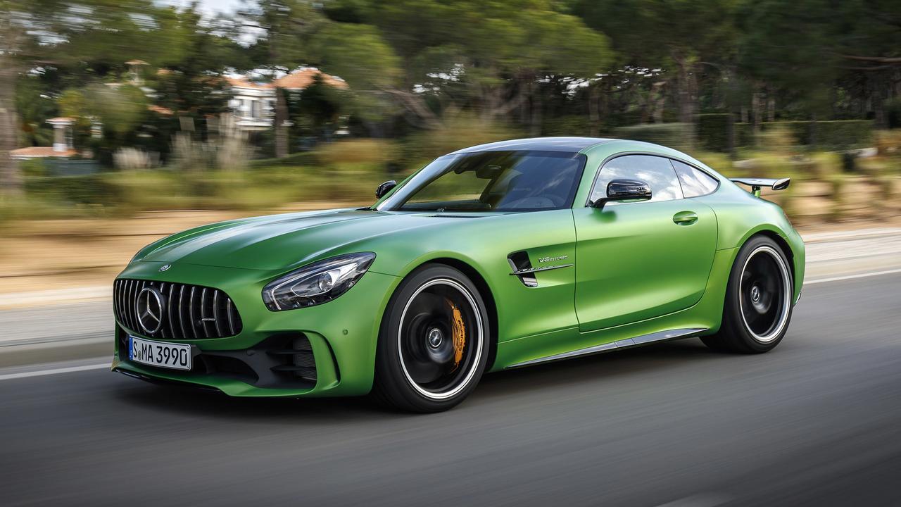 8. 2018 Mercedes-AMG GT R - 1:18.7