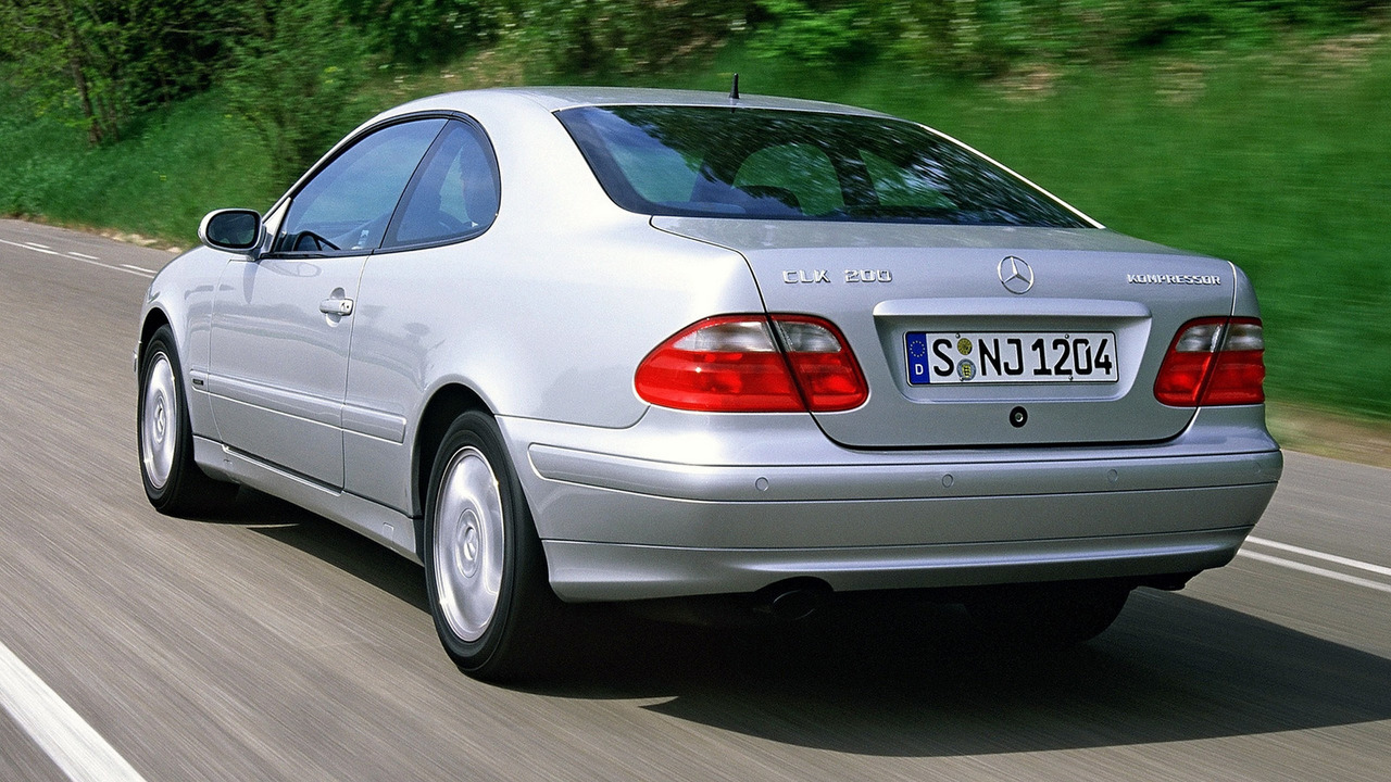 Lieblings Worst Sports Cars: Mercedes CLK (first generation) &RK_45