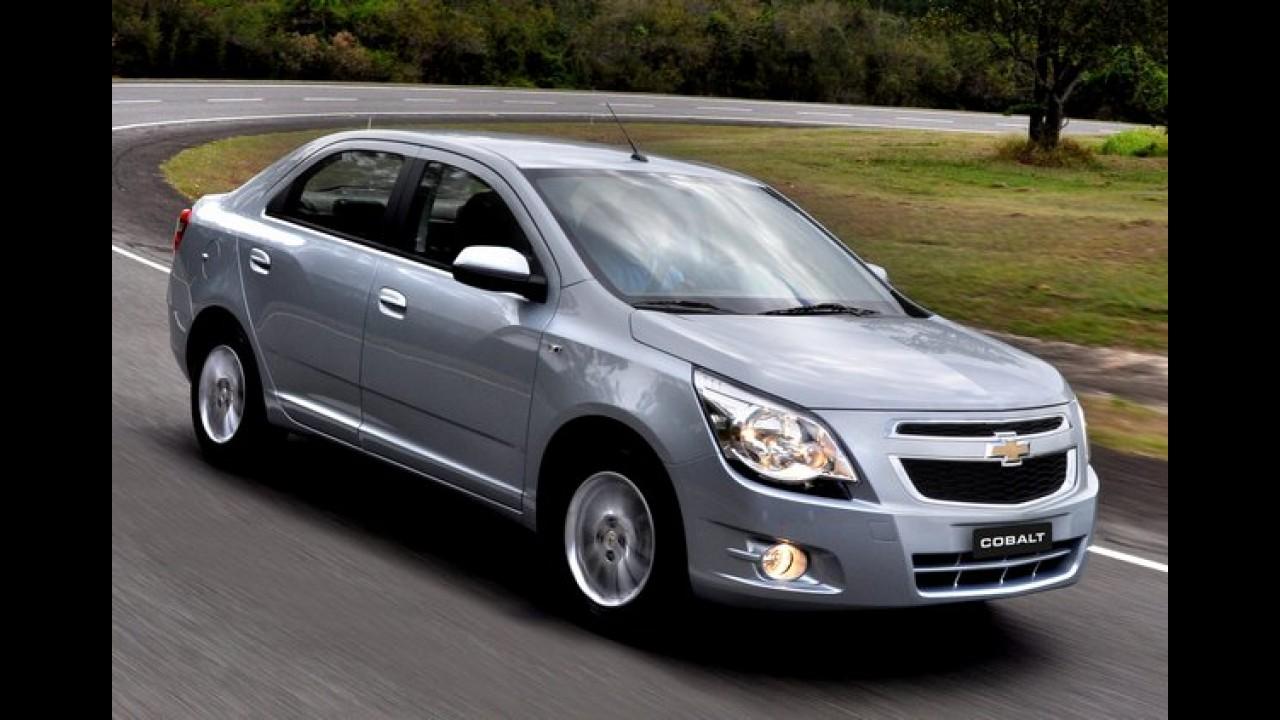 Cobalt também deu adeus à Rússia junto com quase todos os Chevrolet