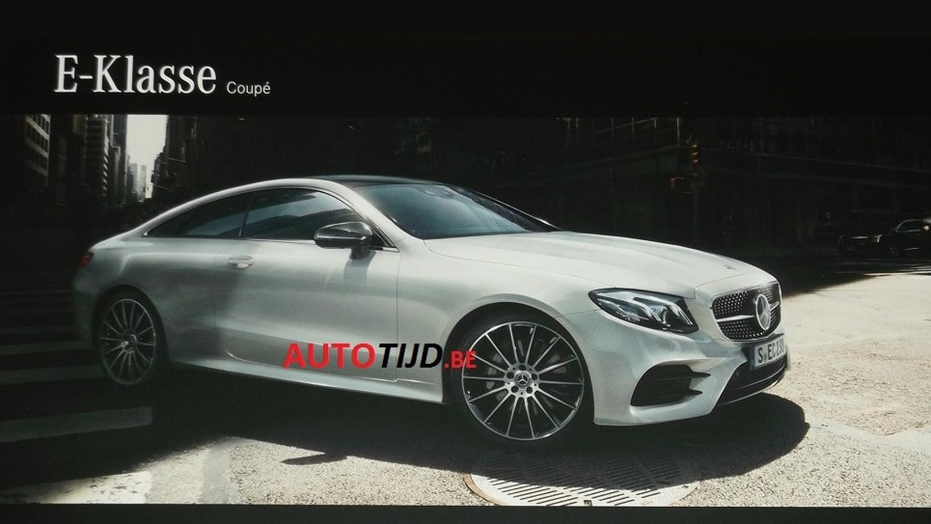 2018 Mercedes E Class Coupe Leaked Brochure Shows It All