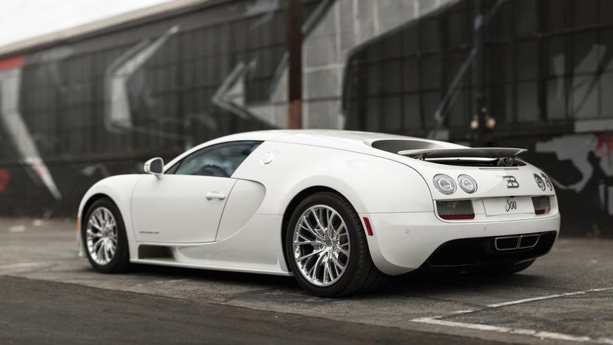 Mise aux enchères de la dernière Bugatti Veyron Super Sport