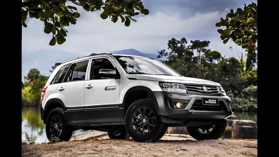 Suzuki Grand Vitara 4Sport: nova versão mais parruda chega por R$ 95.990