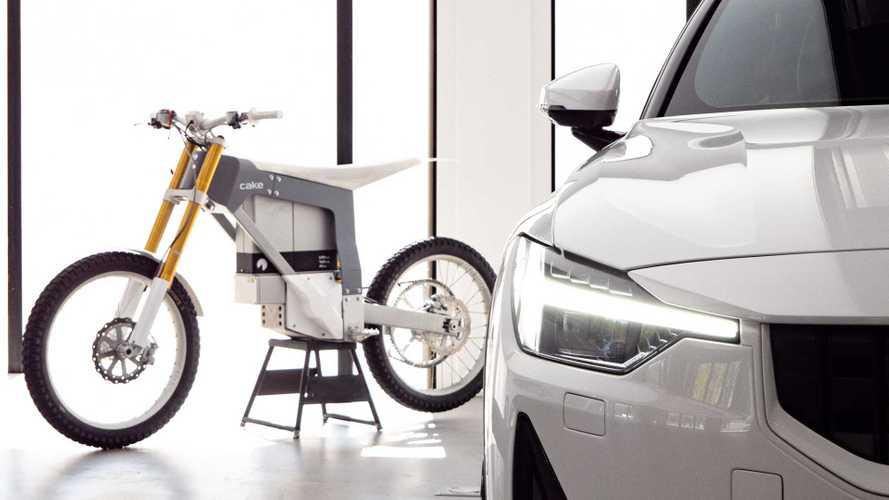 Polestar kooperiert mit schwedischem Elektro-Motorradspezialist Cake
