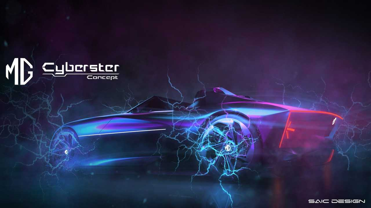 MG Cyberster смешивает Cybertruck и Roadster имена с хорошим внешнем
