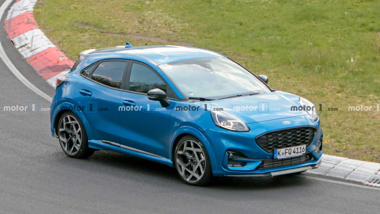 Ford Puma ST Espion Photos