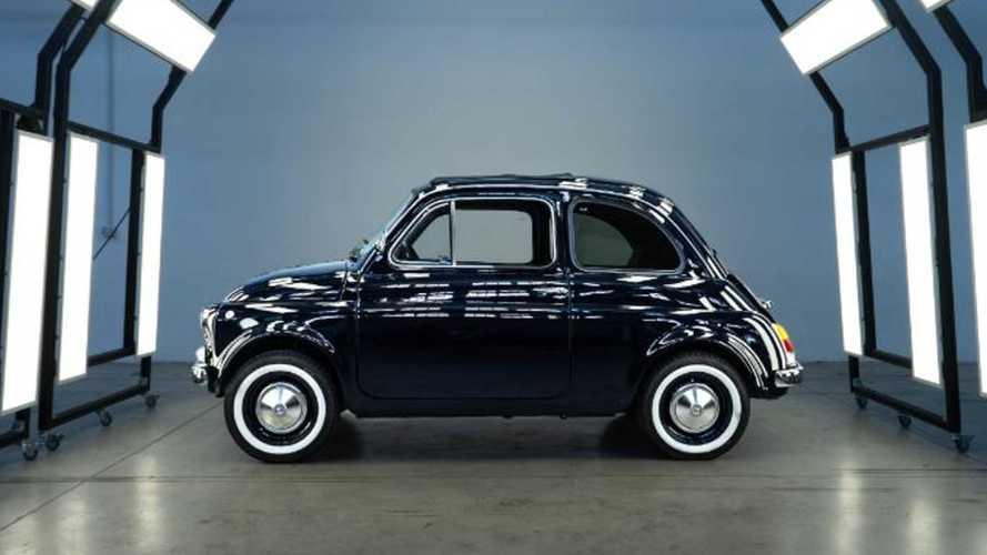 La Fiat 500 Vintage Icon-e di Lapo Elkann: elettrica con stile