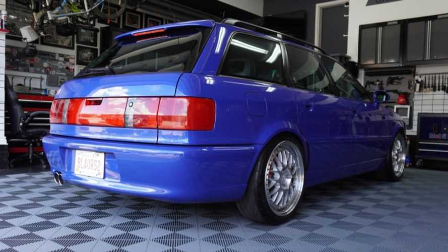 Audi RS2 Avant getting detailed is your Zen moment of the day