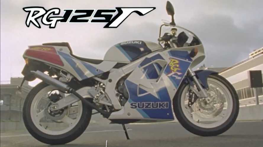 Relive The Suzuki RG125 Gamma's Glory With This Old School Video