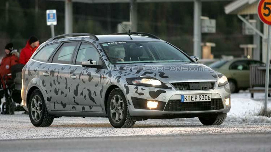 SPY PHOTOS: Ford Mondeo Estate