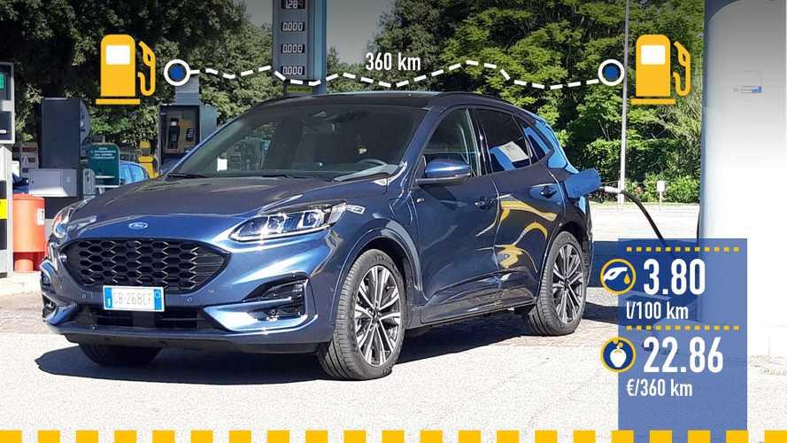 Ford Kuga hybride rechargeable, le test de consommation réelle