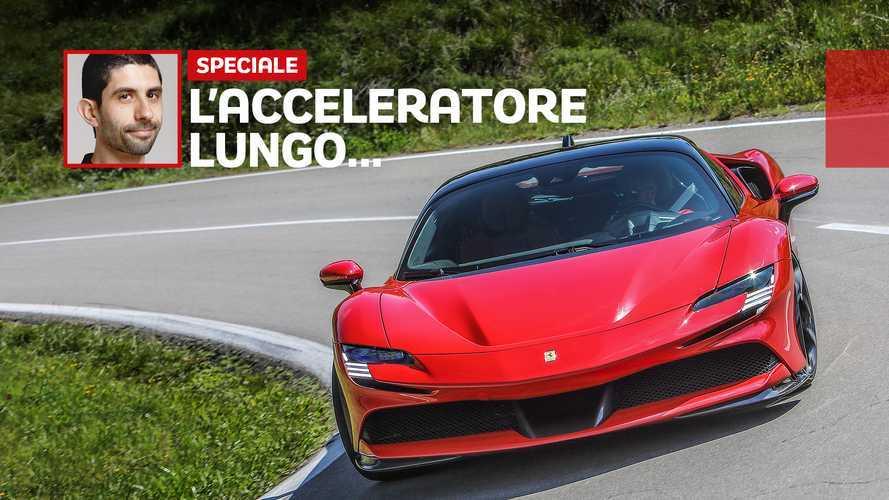 Ferrari SF90 Stradale, prova su strada e pista con 1.000 CV (sul bagnato!)
