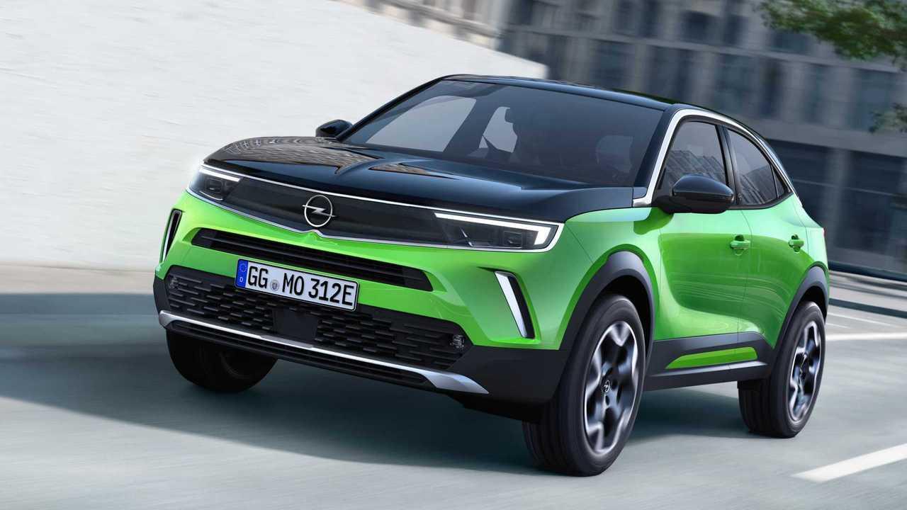 Opel Mokka (4,15 Meter, ab Anfang 2021)
