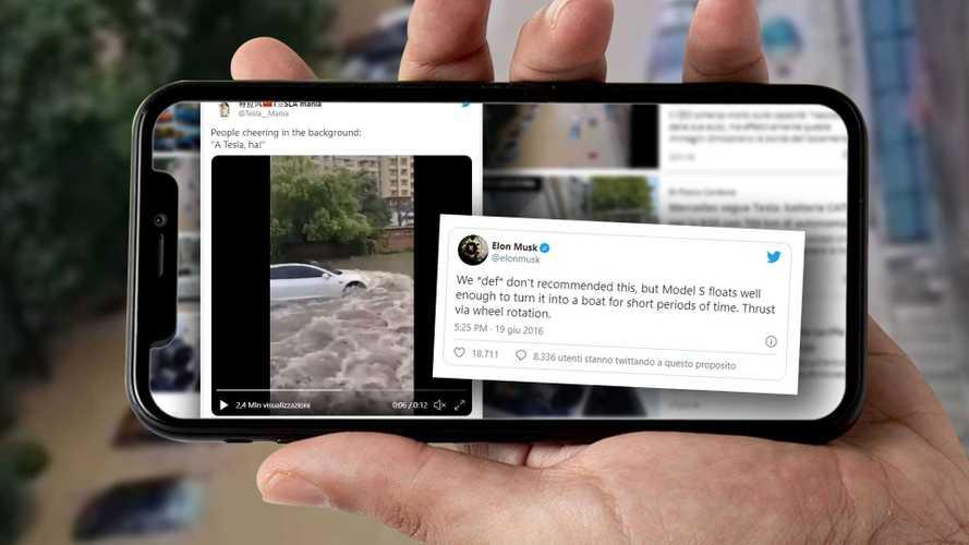 """Le Tesla """"galleggiano"""" come dice Elon Musk? I video shock dalla Cina"""