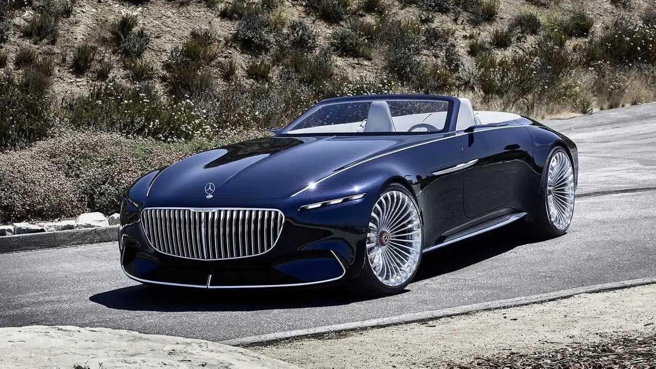 Mercedes представил первый электрический кабриолет Maybach