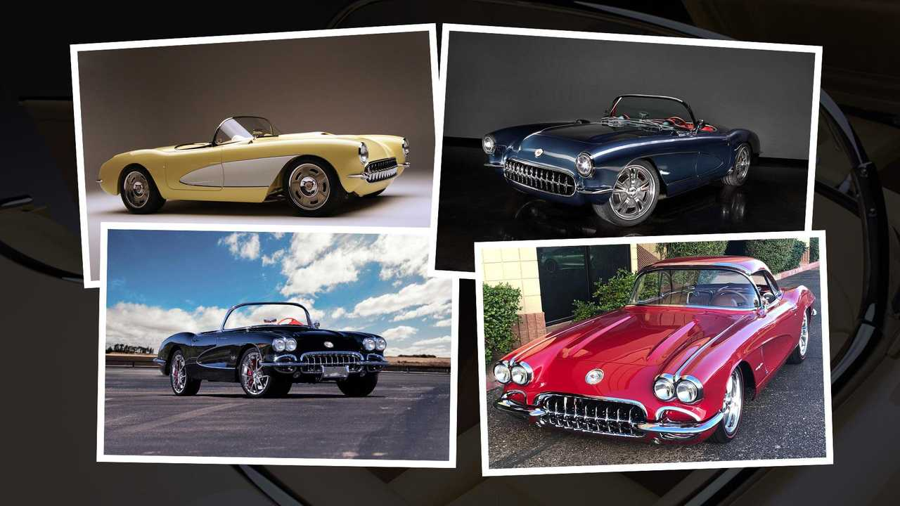 Which of these four custom Chevy Corvette C1s would you buy?