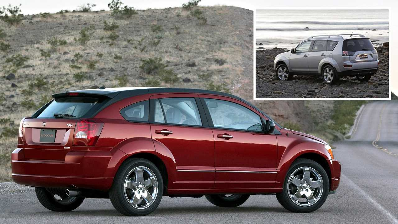 Dodge Caliber – Mitsubishi Outlander XL