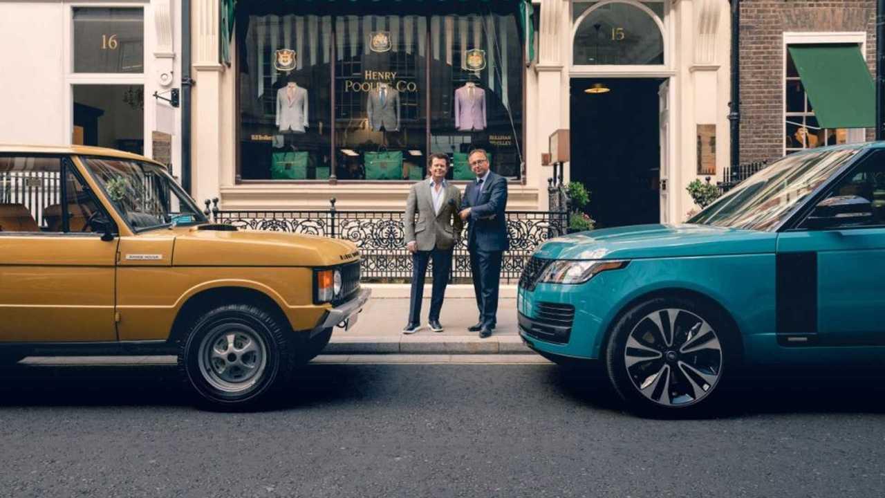 Новая ткань Land Rover