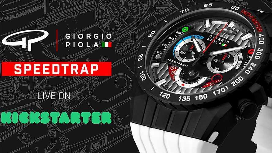 Giorgio Piola, yeni SPEEDTRAP Kickstarter kampanyasını başlattı