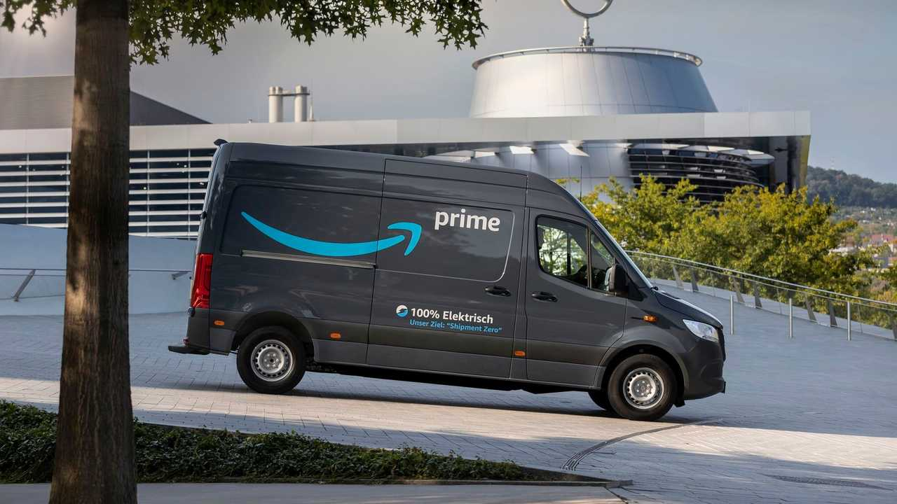 Mercedes-Benz eSprinter in Amazon fleet in Germany