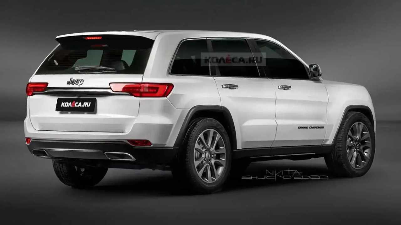 así podría ser el jeep grand cherokee 2021