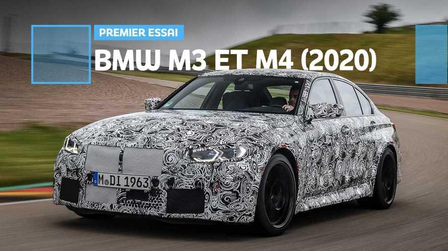 Prise en main des nouvelles BMW M3 et M4 (2020)