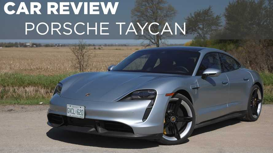 Canadian Review Sings Porsche Taycan Turbo S Praises