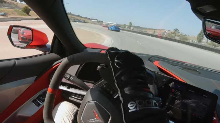 C8 Corvette Battles Viper ACR And 911 GT3