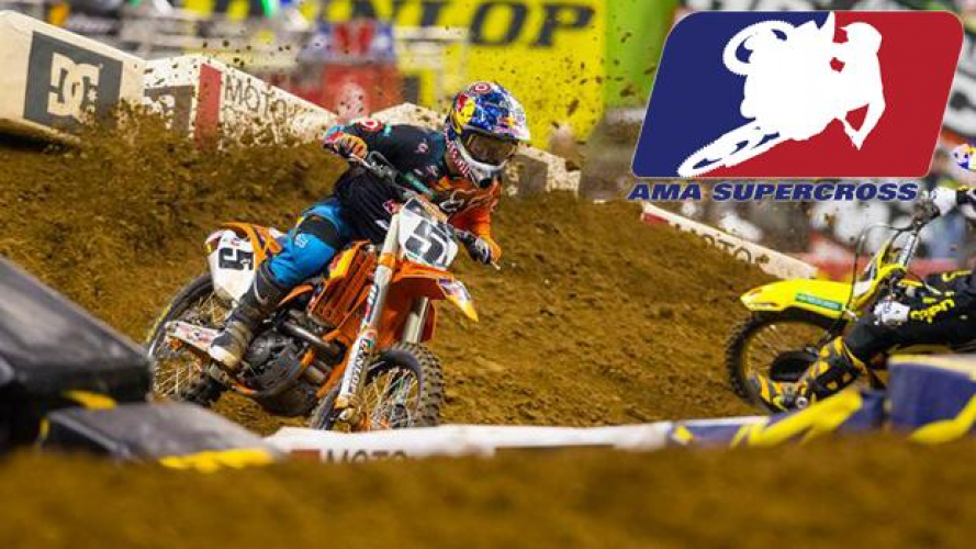 AMA Supercross 2013 Rd.14 - Minneapolis: vittoria di Dungey!