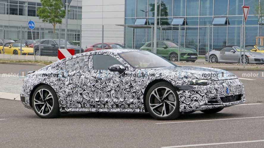 2020 Audi E-Tron GT, Porsche'nin AR&GE tesisinde görüntülendi