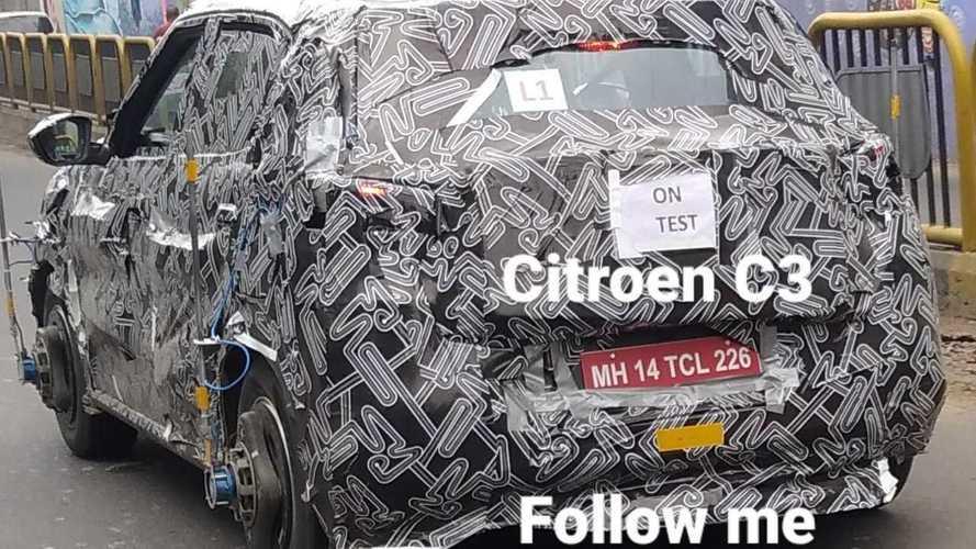 Flagra: Citroën C3 Sporty 2022