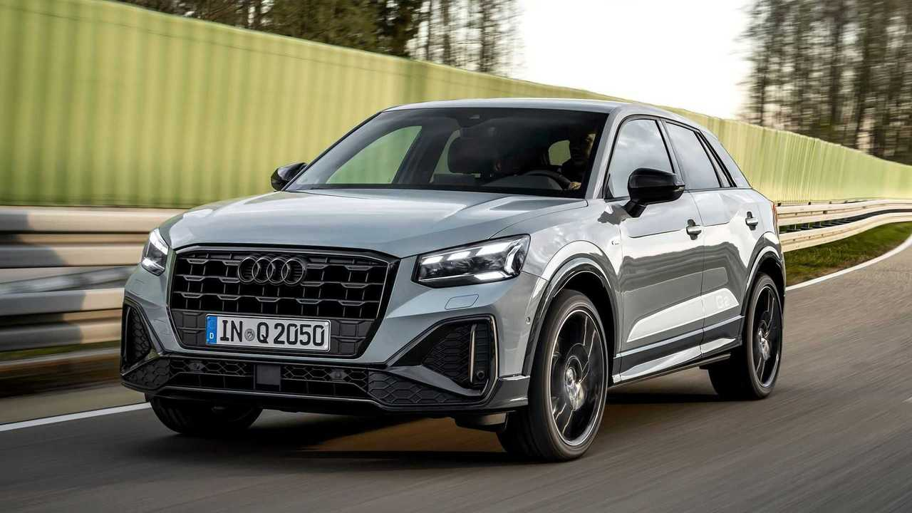 Audi Q2 2021, movement