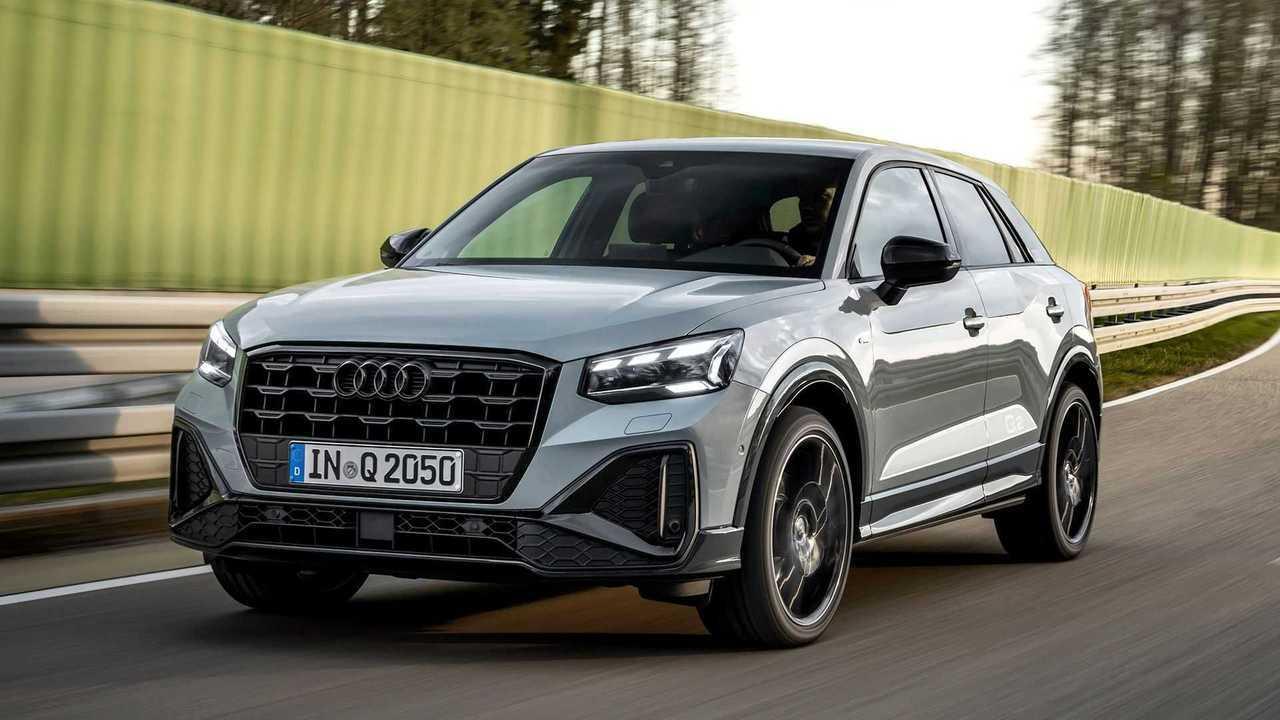 Audi Q2 2021, movimiento
