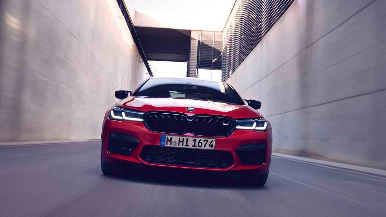 Обновленная BMW M5 (2020)