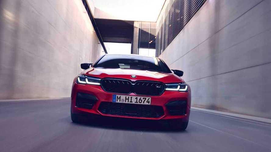 VIDÉO - La BMW M5 restylée montre toutes ses nouveautés